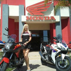 Photo taken at Huntington Beach Honda Motorcycles by Huntington H. on 4/20/2013