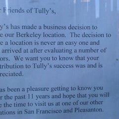 Photo taken at Tully's Coffee by Nick S. on 9/18/2012
