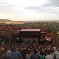 Photo taken at Red Rocks Park & Amphitheatre by Nicholas on 7/6/2013