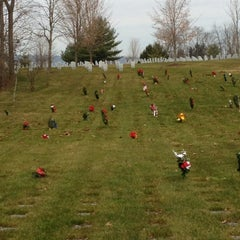 Photo taken at Indiantown Gap National Cemetery by Holly F. on 12/15/2012