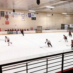 Photo taken at Edge Ice Arena by Sarah W. on 12/27/2014