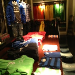 Photo taken at Abercrombie & Fitch by Benjamin on 1/17/2013