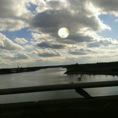 Photo taken at High Rise Bridge by Brandon H. on 2/3/2013