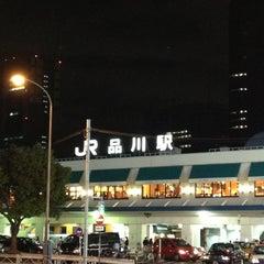 Photo taken at 品川駅 (Shinagawa Sta.) by 小西 on 2/17/2013