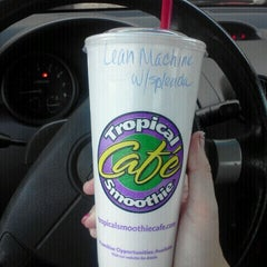Photo taken at Tropical Smoothie Cafe by Emily on 10/27/2011