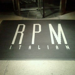 Photo taken at RPM Italian by Maria D. on 6/27/2012