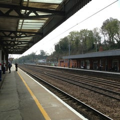 Photo taken at Hitchin Railway Station (HIT) by Stephen H. on 4/25/2013