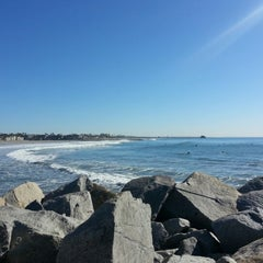 Photo taken at Oceanside Harbor N Jetty by Liam W. on 12/19/2012