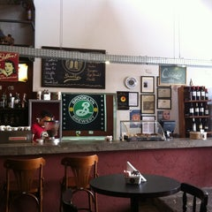 Photo taken at Brooklyn Coffee Shop by Susana C. on 10/1/2012