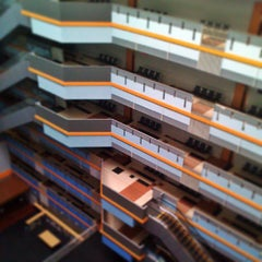 Photo taken at BINUS University by Didik W. on 5/3/2013