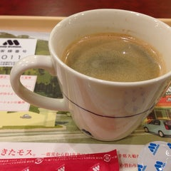 Photo taken at モスバーガー 祖師ヶ谷大蔵駅前店 by Yoh A. on 1/12/2014