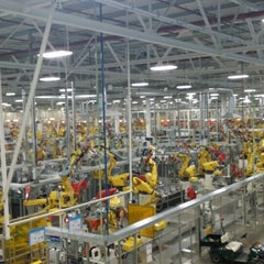 Photo taken at Chrysler Sterling Heights Assembly Plant by Sam M. on 4/7/2014
