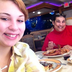 Photo taken at Galaxy Diner by Amanda g. on 2/7/2013