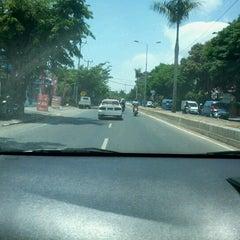 Photo taken at Jalan By Pass Ngurah Rai by Jerry S. on 10/11/2012
