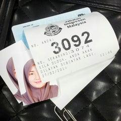 Photo taken at Pejabat Imigresen Negeri Kelantan by Ain G. on 2/27/2014