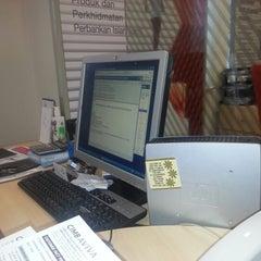 Photo taken at CIMB Bank by E - R. on 1/31/2013