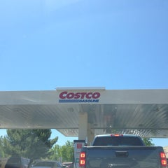 Photo taken at Costco Gas Station by Michael A. on 5/3/2014