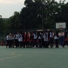 Photo taken at K9 Basketball Court by Hidayah K. on 7/31/2015