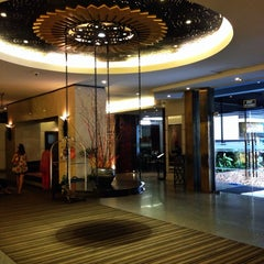 Photo taken at Sunbeam Pattaya Spa & Wellness Hotel by Pum Pui on 4/14/2013