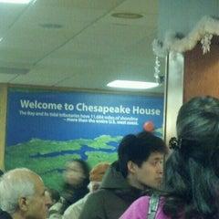 Photo taken at Chesapeake House Travel Plaza by Sheri F. on 12/27/2012