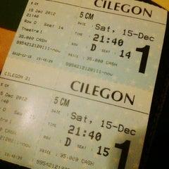 Photo taken at Cinema 21 Cilegon by Melodi N. on 12/15/2012