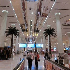Photo taken at Dubai International Airport (DXB) | مطار دبي الدولي by bonyarinko on 6/17/2013