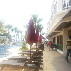 Photo taken at Imperial Hua Hin Beach Resort by Tuk on 10/2/2012