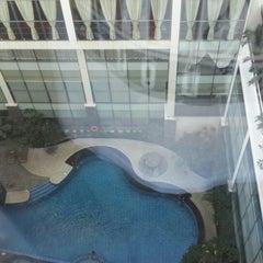 Photo taken at Hotel Menara Bahtera by Bass M. on 6/22/2013