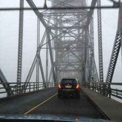 Photo taken at Burlington–Bristol Bridge by Megan on 1/14/2013