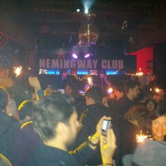 Photo taken at Hemingway by Antonio B. on 1/1/2013