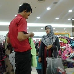 Photo taken at Matahari Department Store by Abi E. on 1/12/2013