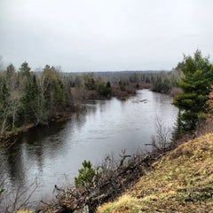 Photo taken at Au Sable River by Mike R. on 4/23/2013