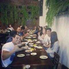 Photo taken at Sushi da Moka by Luiz F. on 7/11/2013