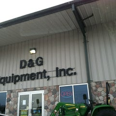 Photo taken at D&G Equipment by Sara W. on 1/21/2013