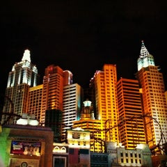Photo taken at New York-New York Hotel & Casino by Josh M. on 9/14/2012