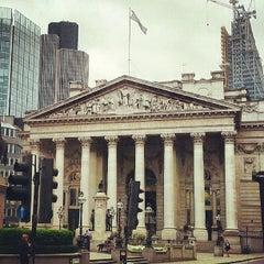 Photo taken at The Royal Exchange by John S. on 5/20/2013
