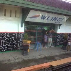Photo taken at Stasiun Wlingi by M Irawan K. on 11/19/2012