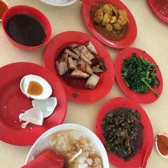 Photo taken at Hougang 105 Hainanese Village Centre (Lorong Ah Soo Food Centre) by James on 11/22/2014