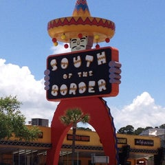 Photo taken at South of the Border by Trena D. on 6/2/2013