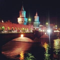 Photo taken at Oberbaumbrücke by Manu S² on 10/19/2012