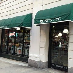 Photo taken at Ricky's NYC 57th St. by Burcu E. on 8/16/2013