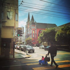 Photo taken at Van Ness Ave by Kevin S. on 5/15/2015