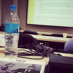 Photo taken at Ernst Young University by Alejandro A. on 3/18/2014