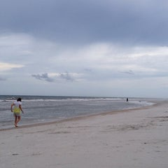 Photo taken at Jax Beach At South 15th Ave by Craig L. on 6/14/2014