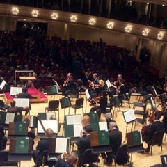 Photo taken at Symphony Center (Chicago Symphony Orchestra) by Larry M. on 11/30/2012