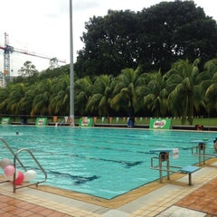 Photo taken at Yio Chu Kang Swimming Complex by kerlyn x. on 9/7/2013