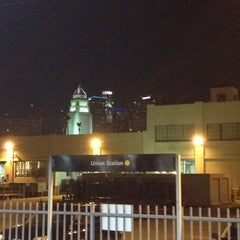 Photo taken at Metro Gold Line - Union Station by Claudel on 11/24/2012