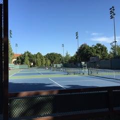 Photo taken at Taube Family Tennis Stadium by Salim M. on 5/1/2015