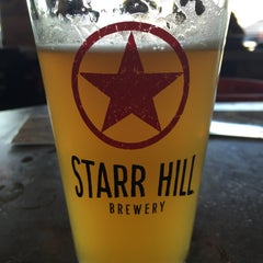 Photo taken at Starr Hill Brewery by Kate H. on 8/21/2015
