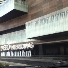 Photo taken at Paseo Interlomas by Diego on 12/24/2012
